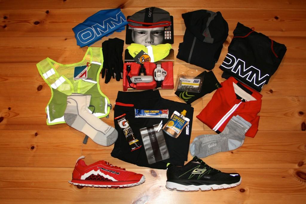 Utrustning för vinterlöpning