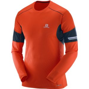 salomon-agile-ls-tee-orange-2