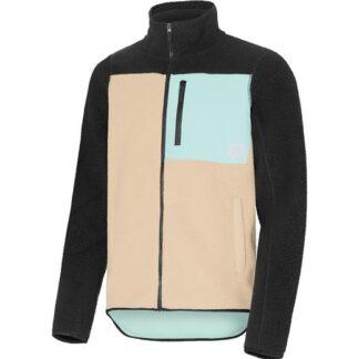 wearcolour retro pile jacket