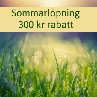 Sommarlöpning - 300 kr rabatt